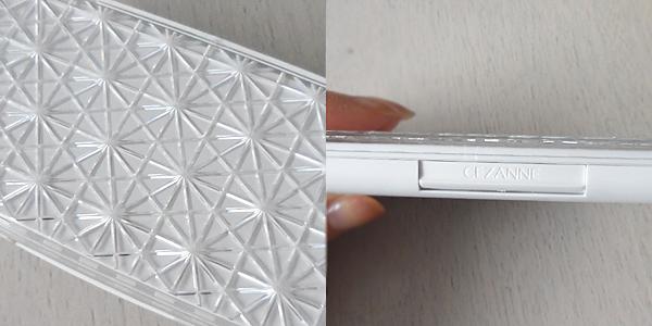セザンヌ UVファンデーション EXプレミアムのコンパクトは白くて素敵だね♪